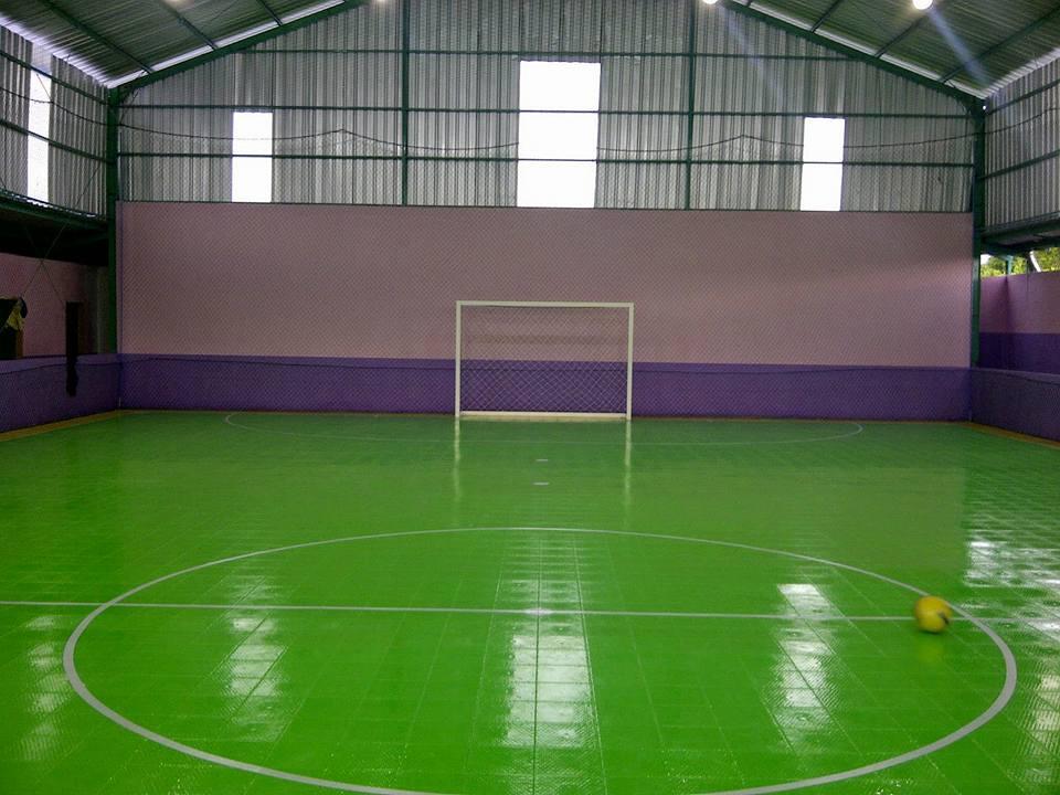 jual interlock lapangan futsal