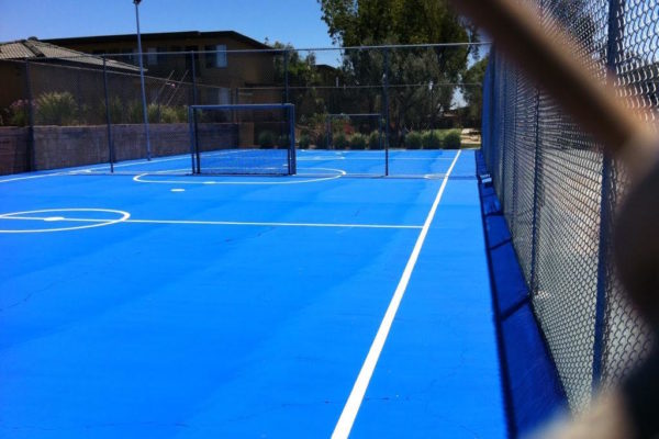 Harga Pengecatan Lapangan Basket, Badminton, Futsal, Tenis, Voli