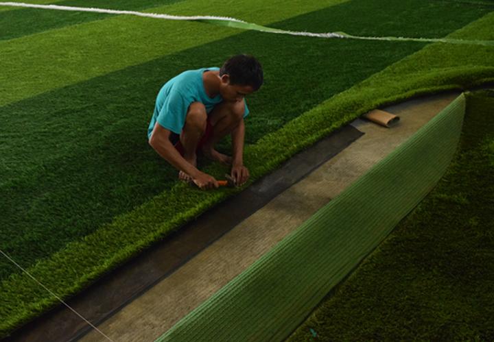 Jual Rumput Sintetis Futsal, Taman, Lapangan Sepak Bola | Rumput Sintetis