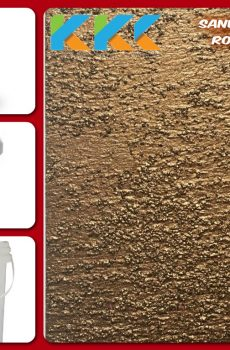 Jual Cat Tekstur  | Sand Texture Royal Gold Color