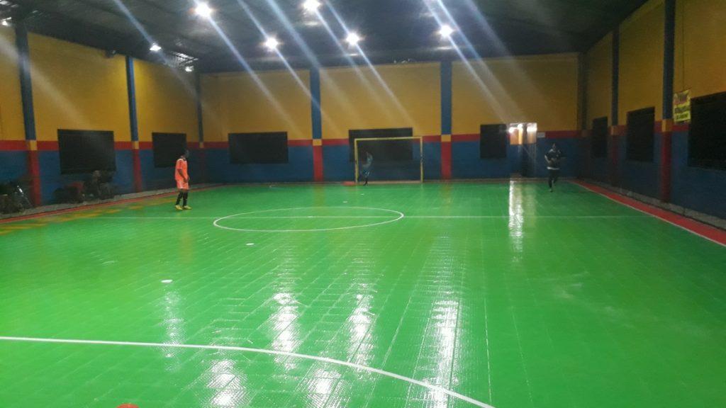 lantai interlock lapangan futsal