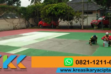 Jasa Cat Lapangan Basket