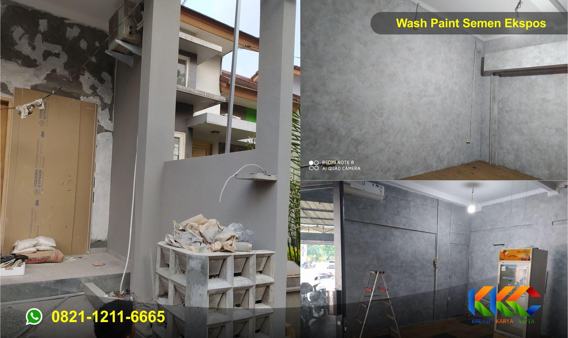 4 Jenis Cat Dekoratif Wash Paint Untuk Dinding Rumah Lebih Artistik