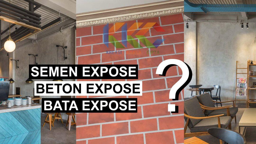 5 Cat Dinding Expose Terpopuler 2020 yang berkesan Industrial dan Rustic pada Ruangan