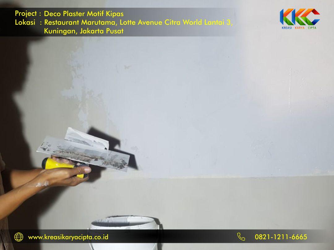 deco plaster motif kipas kuningan jakarta pusat 1