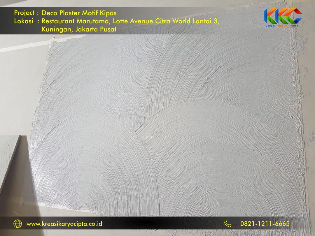 deco plaster motif kipas kuningan jakarta pusat 2