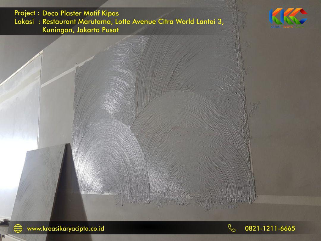 deco plaster motif kipas kuningan jakarta pusat 3