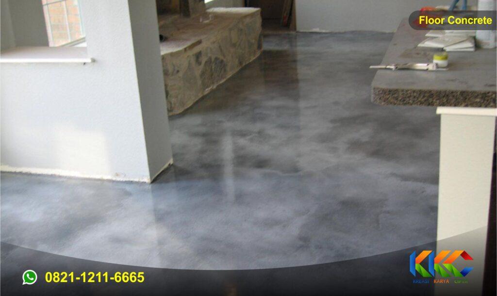 floor concrete 1 wash paint