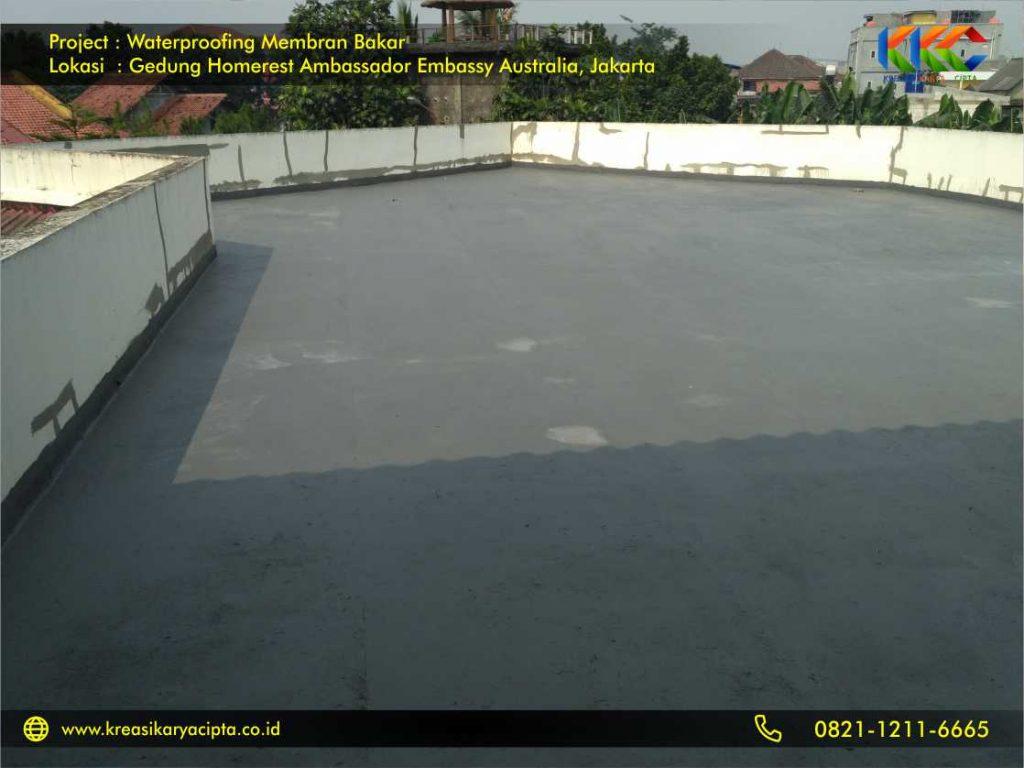 Waterproofing Membran Bakar Gedung Embassy Australia Jakarta 2