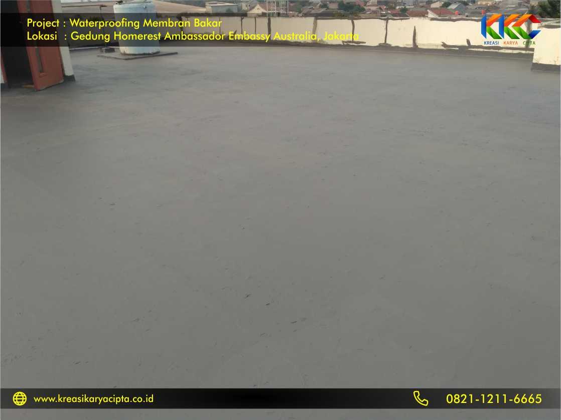 Waterproofing Membran Bakar Gedung Embassy Australia Jakarta 4