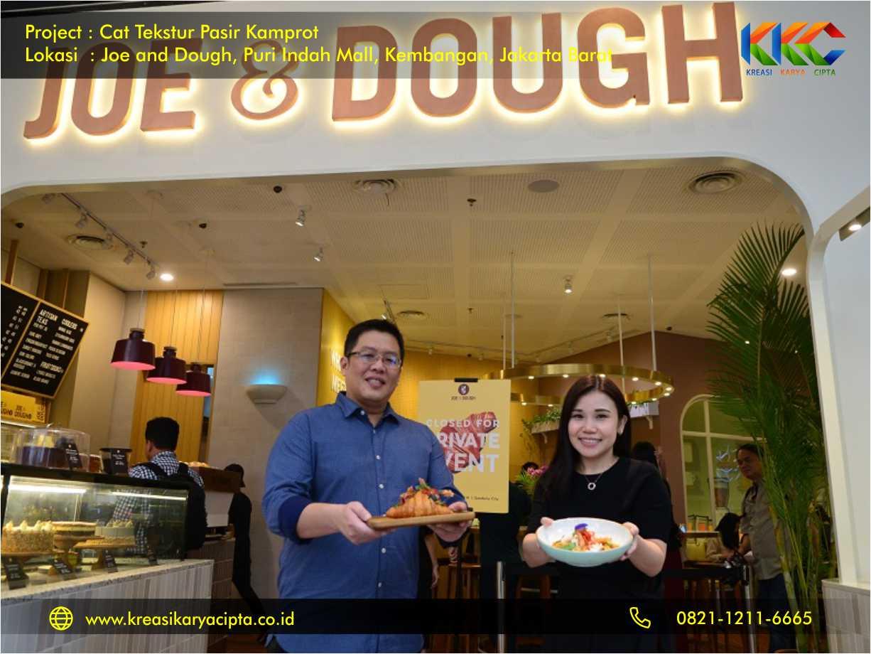 cat tekstur joe and dough puri indah mall kembangan jakarta barat 8