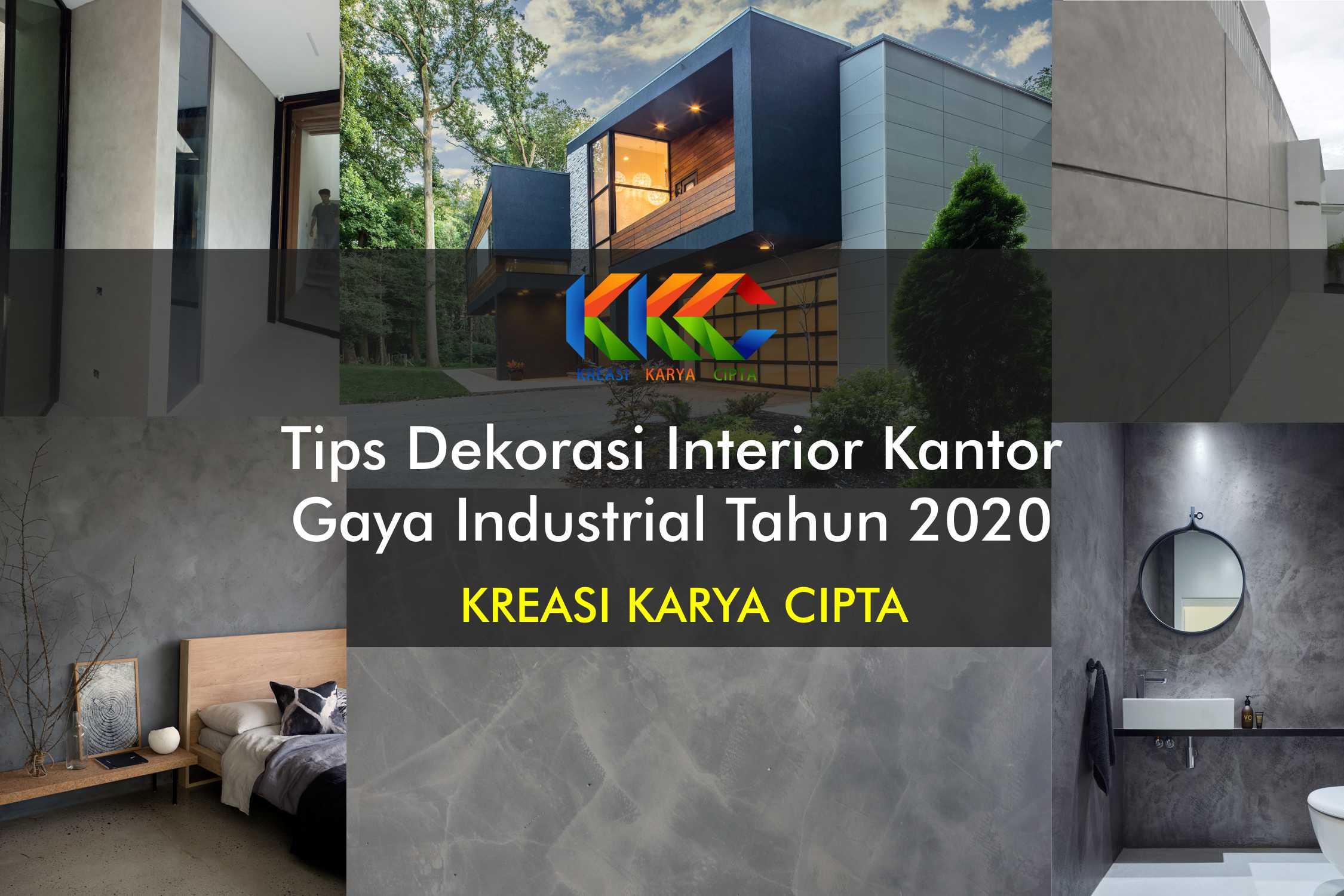 Tips Dekorasi Interior Kantor Gaya Industrial Tahun 2020
