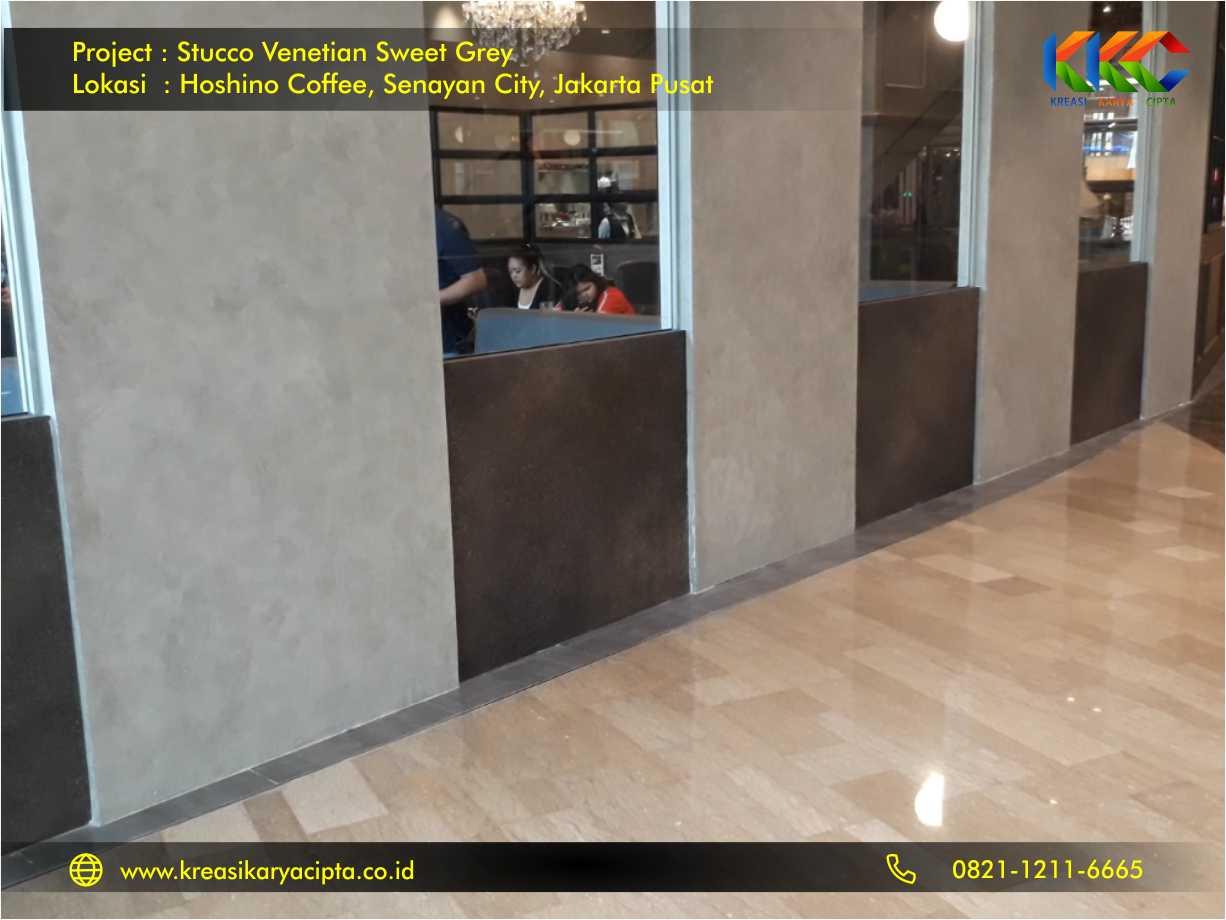 project stucco venetian sweet grey hoshino coffee jakarta pusat 2