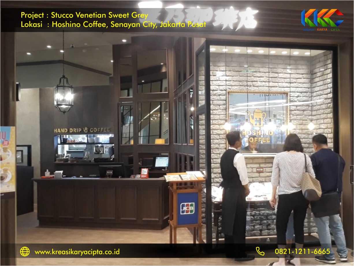 project stucco venetian sweet grey hoshino coffee jakarta pusat 4