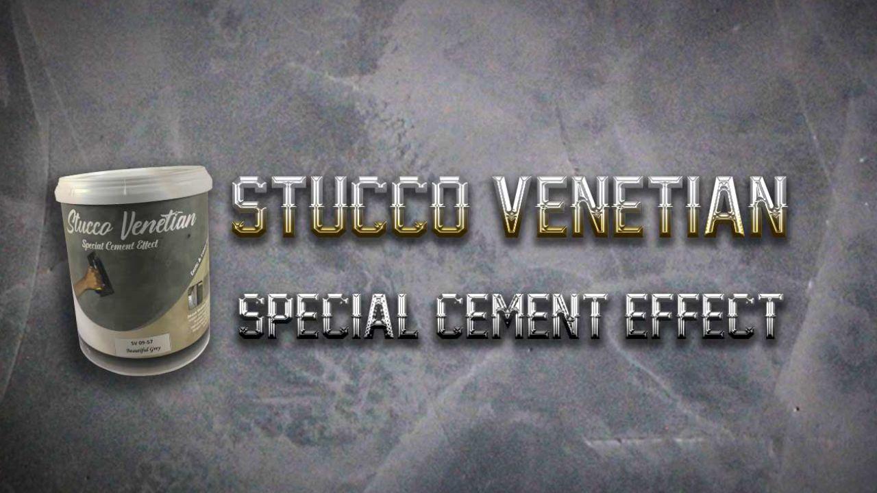 stucco venetian motif semen ekspos tema industrial