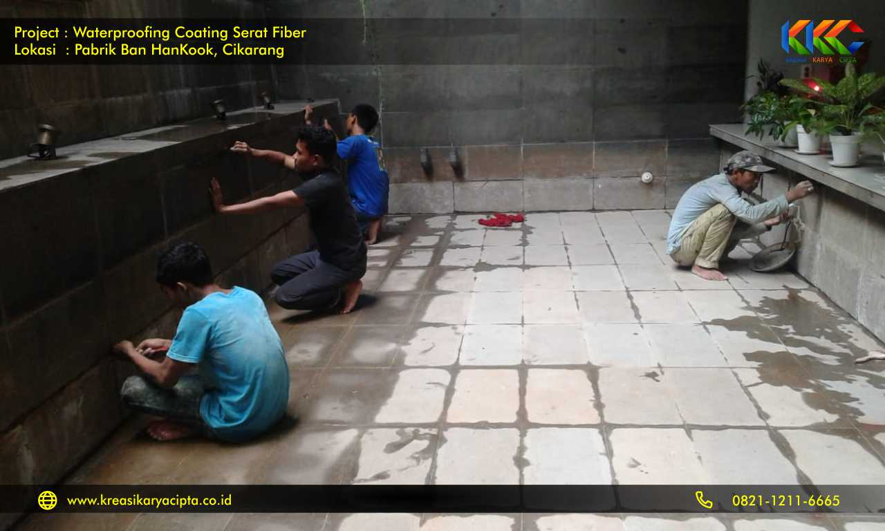 waterproofing pabrik ban hankook cikarang bekasi 3