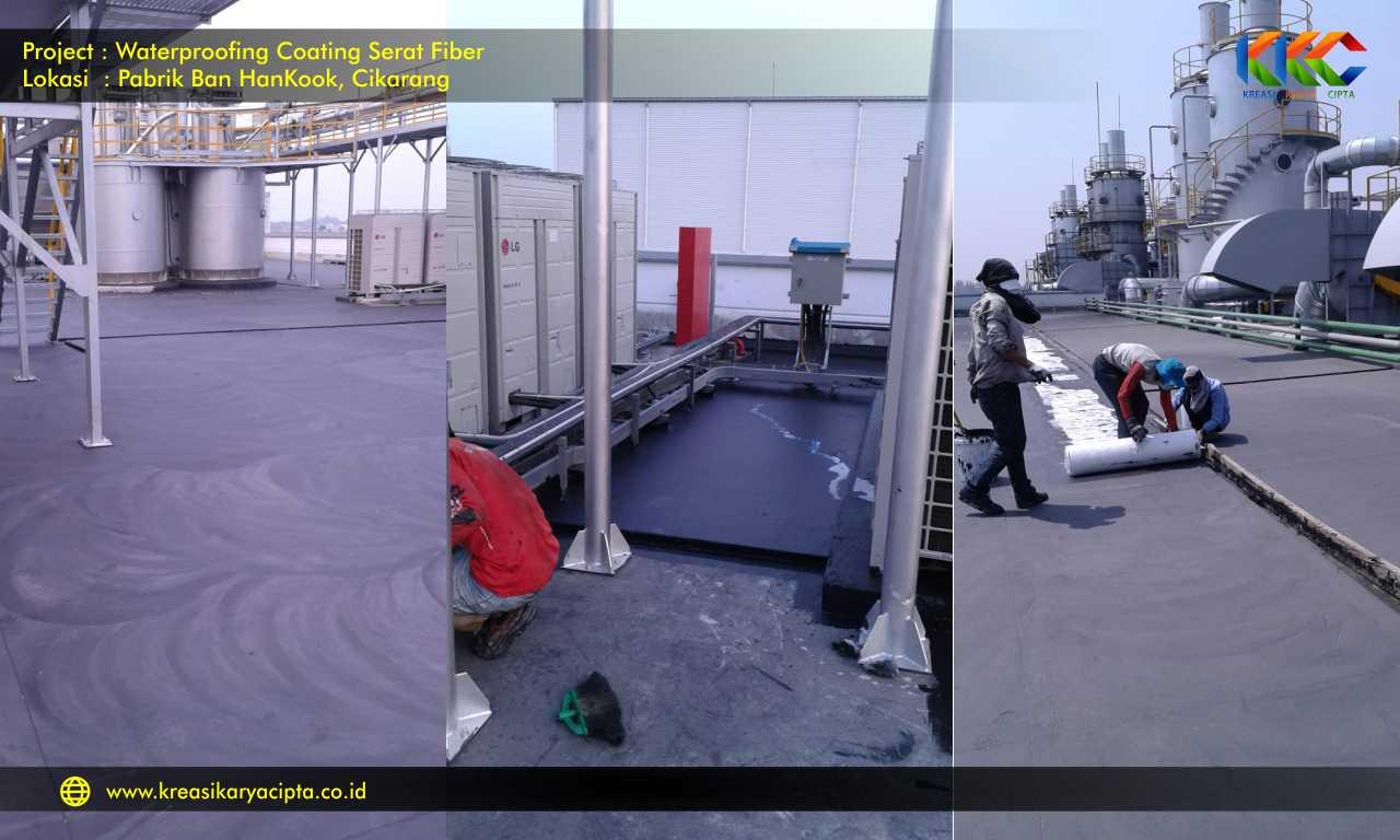 waterproofing pabrik ban hankook cikarang bekasi 6