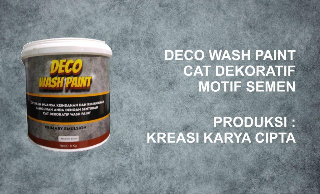 DECO WASH PAINT 1 deco wash
